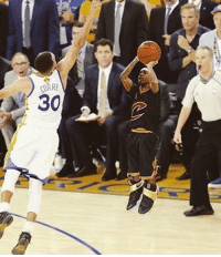 Kyrie's big Finals shot looks a little different starring Isaiah Thomas   (pic via @RTNBA) https://t.co/uhqckYEEMM: Kyrie's big Finals shot looks a little different starring Isaiah Thomas   (pic via @RTNBA) https://t.co/uhqckYEEMM