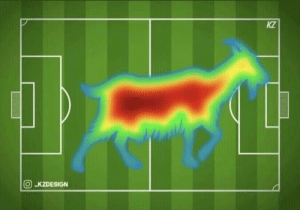 Memes, Heat, and 🤖: kZ Lucas Moura's 2nd half heat map (Credits: @Baroque_NAD ) https://t.co/58fO1RlGan