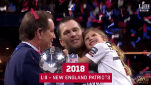 Last decade gave us some INCREDIBLE @SuperBowl victories!  Who will start this decade off with a ring? 💍 #WeReady https://t.co/iF3zrfWJUl: LÄIII  OCBS  2018  LIII - NEW ENGLAND PATRIOTS Last decade gave us some INCREDIBLE @SuperBowl victories!  Who will start this decade off with a ring? 💍 #WeReady https://t.co/iF3zrfWJUl