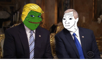 Meme magic is real, Pence is literally Wojak: lへ  rxy Meme magic is real, Pence is literally Wojak