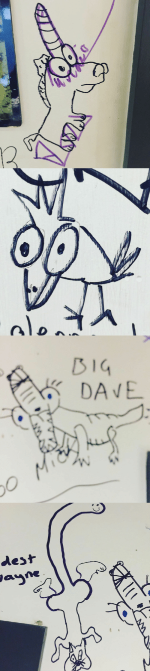 Animals, Butt, and Dicks: l   BIG  DAVE  o Mic   dest  Jayne postmcrnews:  frankieromustdie:  So a few months ago my kids were backstage at a show, and Lily asked why that worm on the wall had a giant butt? i always knew there were a ton of dicks drawn on backstage walls, but that moment was when i realized they have got to go and that i was going to do my part.So i started making all the ones i find into crudely drawn animals. here are just a few from this tour so far. #LaterTatersTonight's our night Manchester… 7:30pm doors at Manchester Academy with @mobinagalore & @laurajanegrace and the devouring mothers. #FIATFV