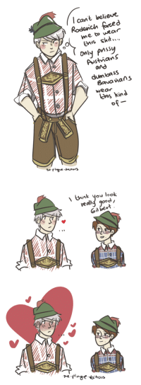 Dumb, Target, and Tumblr: l cant believe  me to wear  is sh..  dumloass  wea  lUms kinJ   、 bank you look  veally good  oil e  0 the-plague-doctors: roderich, u know that gilbert is already weak when you dress up fancy; if you compliment him on top of that you will Kill The Man dumb doodles of dorks