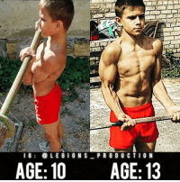 "🔥😳A PRODIGY? Founder 👉: @king_khieu. From 10 years old to 13 years old! What's next for this boy? Thoughts? 🤔Opinions? What do you guys think? COMMENT BELOW! Athlete: @andrey_abdullin22. TAG SOMEONE who needs to lift! _________________ Looking for new gym clothes? Use our 10% discount code: LEGIONS10🔑for Ape Athletics (@apeathletics) 🦍 fitness apparel! The link is in our 👆 bio! _________________ Check out our principal account: @fitness_legions for the best fitness and nutrition information! Like✅ us on Facebook👉: ""Legions Production"" for a chance at having a shoutout. @legions_production🏆🏆🏆. . . . . . . . cardio cardioworkout cardiotime nopainnogain mtlblog mtlmoments pain mtl intense physical improve improvement challenge challenges montreal overcome struggle strive effort dominate compete competitor competition exercise muscle muscles musclegain protein competitive exercises: l G  LEGION S  PRO DU CTION  AGE: 10 AGE: 13 🔥😳A PRODIGY? Founder 👉: @king_khieu. From 10 years old to 13 years old! What's next for this boy? Thoughts? 🤔Opinions? What do you guys think? COMMENT BELOW! Athlete: @andrey_abdullin22. TAG SOMEONE who needs to lift! _________________ Looking for new gym clothes? Use our 10% discount code: LEGIONS10🔑for Ape Athletics (@apeathletics) 🦍 fitness apparel! The link is in our 👆 bio! _________________ Check out our principal account: @fitness_legions for the best fitness and nutrition information! Like✅ us on Facebook👉: ""Legions Production"" for a chance at having a shoutout. @legions_production🏆🏆🏆. . . . . . . . cardio cardioworkout cardiotime nopainnogain mtlblog mtlmoments pain mtl intense physical improve improvement challenge challenges montreal overcome struggle strive effort dominate compete competitor competition exercise muscle muscles musclegain protein competitive exercises"