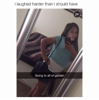 Olive Garden, Girl Memes, and All of Garden: l laughed harder than I should have  24  Going to all of garden why go to Olive Garden when you can go to all of garden?