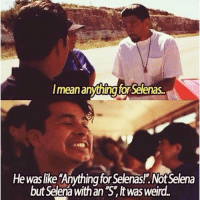 """This bumper is gonna go on the wall in my garage carnal..I'm gonna put a little sign under it...it's gonna say """"This bumper was pulled off by the bus of Selenaasss (SALINAS): l mean anythingforSelenas..  Hewas like 'Anything for Selenas!.Not Selena  but Selena with an """"S"""" It was weird This bumper is gonna go on the wall in my garage carnal..I'm gonna put a little sign under it...it's gonna say """"This bumper was pulled off by the bus of Selenaasss (SALINAS)"""