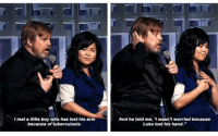 "Luke Skywalker, Lost, and Http: l met a little boy who has lost his arm  because of tuberculosis.  And he told me, 'I wasn't worried because  Luke lost his hand."" <p>Wholesome Luke Skywalker via /r/wholesomememes <a href=""http://ift.tt/2vRwuFp"">http://ift.tt/2vRwuFp</a></p>"