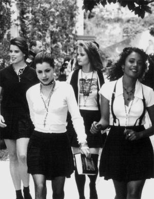l-o-o-p-y:  The higher our powers, the higher our skirts | The Craft (1996): l-o-o-p-y:  The higher our powers, the higher our skirts | The Craft (1996)