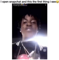Memes, Snapchat, and 🤖: l open snapchat and this the first thing i see  DarianUpNext  3months age from Memories Jit did that 💯😂🔥 ( Via: @darianupnext )