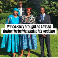 Prince Harry invited a special friend to the Royal Wedding for all the right reasons 🙌❤️️: l Prince Harry brought an Africaln  Orphanhebefriended to his wedding Prince Harry invited a special friend to the Royal Wedding for all the right reasons 🙌❤️️