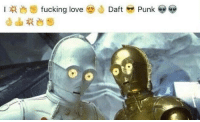 Daft Punk, Punk, and L&t: l t fucking love  Daft  Punk