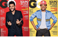 TheWeeknd and ChanceTheRapper both cover the latest issue of GQ magazine! 🔥💯 @GQ @TheWeeknd @ChanceTheRapper WSHH: L00K SHARp LIVE SMART  OBAMA  VS.  TRUMP  THE NEW  COLD  WAR  FASTER  QUICKER  BETTER  HOW TO  ENJOY  LIFE  MORE  WITHOUT  WASTING  TIME  EXCLUSIVE  HELL  ON  WHEELS  THE  HARROWING  STORY  OF THE  FRENCH  TRUCK  SOUND  STYLE  A CELEBRATION  OF MUSIC  AND FASHION  STARRING  THE  WEEKND  LOOK SHARP LIVE SMART  OBAMA  AND  CHANCE  TRUMP  THE  THE NEW  RAPPER  COLD  WAR  DAVID  BOWIE'S  SECRET  FINAL  PROJECT  ESCAPE TO  MEXICO!  EXCLUSIVE  HOW TO FIND  HELL  A PARADISE  ON  WHEELS  THE  HARROWING  STORY  OF THE  FRENCH  TRUCK  SOUND  STYLE  A CELEBRATION  OF MUSIC  AND FASHION  STARRING  CHANCE  THE  RAPPER  AND  THE  EEKND  DAVID  BOWIE'  SECRET  PROJECT  ESCAPE TO  MEXICO!  HOW TO FIND  A PIECE OF  PARADISE TheWeeknd and ChanceTheRapper both cover the latest issue of GQ magazine! 🔥💯 @GQ @TheWeeknd @ChanceTheRapper WSHH