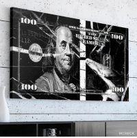 """@ikonick """"Marble Money"""" canvas 🎨🎨 - Use code MM15 at checkout for 15% off !! - Tag a friend below that needs this !! 👇🏽👇🏽@ikonick @ikonick 🎨💸: L12  ONE HUNDHEm non  ED  EAMER  FRANKLIN  Too  IKONICK @ikonick """"Marble Money"""" canvas 🎨🎨 - Use code MM15 at checkout for 15% off !! - Tag a friend below that needs this !! 👇🏽👇🏽@ikonick @ikonick 🎨💸"""
