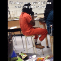 You know what they say, education is key 😂😂😂 instacomedy insta_comedy: This nigga came out of jail  and  went straight to school You know what they say, education is key 😂😂😂 instacomedy insta_comedy