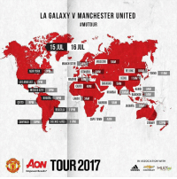 Adidas, Beijing, and Memes: LA GALAXY V MANCHESTER UNITED  #MUTOUR  15 JUL  16 JUL  MOSCOW  5AM  MANCHESTER  3AM  ISTANBUL  4AM  NEW YORK 10PM  5AM  BEIJING  10AM  TOKYO  11AM  SEOUL 11AM  MADRID  SEOUL  LOS ANGELES 7PM  RAGHOAO 5AM  BAGHOAD  CAIRO 4AM  HANO  BANGKOK  9AM  9AM  MEXICO CITY 9PM  MUMBAI.30AM  1.30AM  BOGOTA 9PM  LAGOS  3AM  QUITO 9PM  NAIROBI  5AM  JAKARTA  9AM  BRASILIA 11PM  CAPE TOWN  4AM  SANTIAGO 10PM  BUENOS AIRES 11PM  SYDNEY  12PM  ACA! TOUR2017  ▲ASSOCIATION wur  IN ASSOCIATION WITH  adidas CHEVROLEY  Empower Results GET READY GUYS 🔴🔴🔴 . MUTOUR RESPECT mufc manchesterunited mourinho davesaves lindelof darmian mkhitaryan bailly pogba lukaku martial anderherrera rashford philjones daleyblind lingard ashleyyoung valencia romero lukeshaw smalling daviddegea juanmata manutd14_ manutd14_id