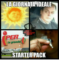 Memes, Starter Pack, and 🤖: LA GIORNATAIDEALE  FEAM  REMO  STARTER PACK noncifermeremoperch