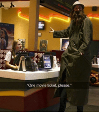 """9gag, Dank, and Funny: LA KUNIS  """"One movie ticket, please."""" Oh yes, I'm quite tall compare to the others.  https://9gag.com/gag/aoNZ9pn/sc/funny?ref=fbsc"""