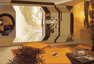 Tumblr, Blog, and Http: lA  XR scifiseries:  Syd Mead, apartment, 1971.