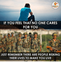 The Real Heroes Of Our Nation.. (Y): LACAGHING  IF YOU FEEL THAT NO ONE CARES  FOR YOU  JUST REMEMBER THERE ARE PEOPLE RISKING  THEIR LIVES TO MAKE YOU LIVE The Real Heroes Of Our Nation.. (Y)