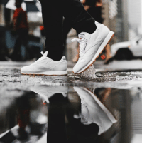 Memes, Reebok, and Tomorrow: Lace up tomorrow for Reebok Classics Leather Day! WeKnowGame