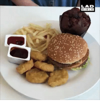 McDonalds, Memes, and Best: LAD  BIB LE The BEST way to eat your McDonald's? 🍟😋