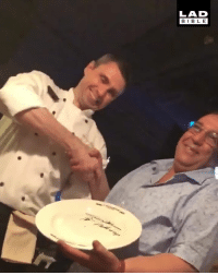 'My dad was told the restaurant was completely booked...minutes later he called back claiming to be the prime minister of Morocco. We got the best table in the place and the chef asked to have a picture with him!' 😂🇲🇦: LAD  BIBL E  0 'My dad was told the restaurant was completely booked...minutes later he called back claiming to be the prime minister of Morocco. We got the best table in the place and the chef asked to have a picture with him!' 😂🇲🇦