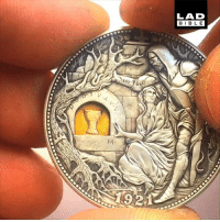 Dank, 🤖, and Lad: LAD  BIBL E  9 This coin engraver is absolutely incredible! 💰👏