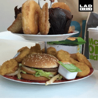 Memes, 🤖, and Tea: LAD  BIBL E  ald Now that's my kind of afternoon tea 😍🍟