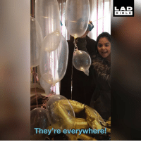 Birthday, Condom, and Memes: LAD  BIBL E  They're everywhere! This lad threw a condom-themed birthday party for his mate 😂