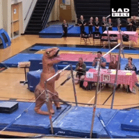Dank, Best, and Today: LAD  BIBL E This T-Rex gymnast is the best thing I've seen today 😂🦖