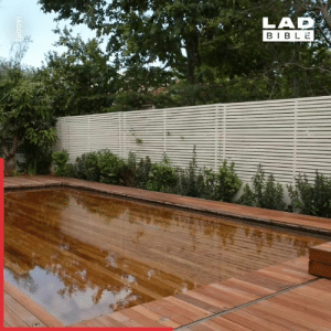 Dank, Bible, and Cool: LAD  BIBLE  AGORI These disappearing pools have serious spy vibes. So cool! 🕵️♂️👌  AGOR Creative Engineering
