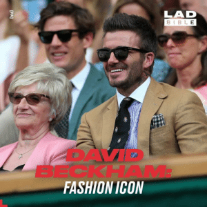 David Beckham rocked up to Wimbledon looking absolutely unreal today, but he's had something of a chequered history when it comes to fashion.: LAD  BIBLE  BECKHAM  FASHION ICON  [PA] David Beckham rocked up to Wimbledon looking absolutely unreal today, but he's had something of a chequered history when it comes to fashion.