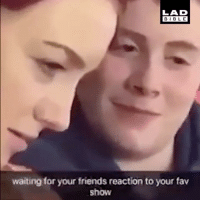Tag that friend 😂👇: LAD  BIBLE  BIBL E  waiting for your friends reaction to your fav  show Tag that friend 😂👇