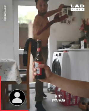 "I wouldn't want to be on the end of that towel whip 👌: LAD  BIBLE  DIT""  CHAPMAN  [CONTENTBIBLE I wouldn't want to be on the end of that towel whip 👌"