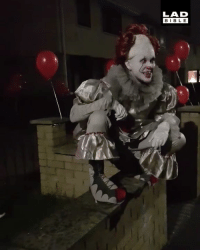 Dank, Bible, and 🤖: LAD  BIBLE 'Our neighbours greeted trick or treaters as IT this year 😱🎈'