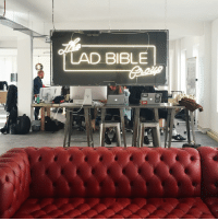 Memes, 🤖, and Signs: LAD BIBLE  T All the lads are loving the new neon sign from @neoncreations ⚡️🎨