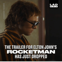 The trailer for 'Rocketman', the Elton John biopic has dropped and it looks epic! 😱😱: LAD  BIBLE  THE TRAILER FOR ELTON JOHN'S  ROCKETMAN  HAS JUST DROPPED The trailer for 'Rocketman', the Elton John biopic has dropped and it looks epic! 😱😱