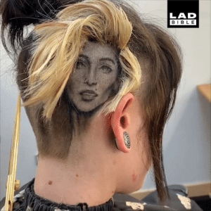 Barber, Dank, and Bible: LAD  BIBLE This barber can turn your hair into absolutely anything! 💈✂️