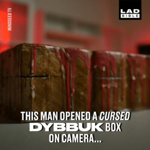 Dank, eBay, and Bible: LAD  BIBLE  THIS MAN OPENED A CURSED  DYBBUK BOX  ON CAMERA This guy bought a cursed package from eBay to see if it was actually real... 😱😳  Mind Seed TV