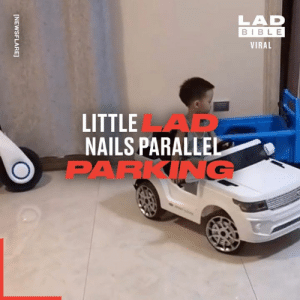 I could think of a few people who need parallel parking lessons from this lad... 👏🚗: LAD  BIBLE  VIRAL  LITTLEAD  NAILS PARALLEL  PARKING  [NEWSFLARE] I could think of a few people who need parallel parking lessons from this lad... 👏🚗
