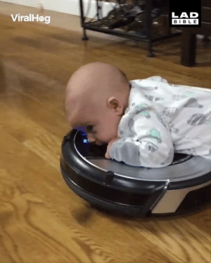 How to keep your baby occupied for hours... 😂😮: LAD  BIBLE  ViralHeg How to keep your baby occupied for hours... 😂😮