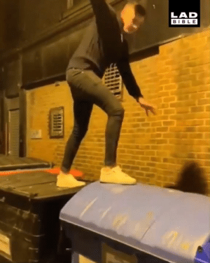 When your night out turns into an episode of Total Wipeout 😂😂: LAD  BIBLE When your night out turns into an episode of Total Wipeout 😂😂