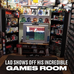 Dank, My House, and Games: LAD SHOWS OFF HIS INCREDIBLE  GAMES ROOM If I had this in my house I don't think I'd ever leave 👾🎮