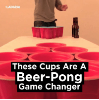 Beer, Dank, and Forever: LADbible  These Cups Are A  Beer Pong  Game Changer The beer-pong game has changed forever...