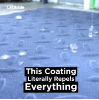 Memes, 🤖, and Insane: LADbible  Ultra  This coating  Literally Repels  Everything This is insanely satisfying to watch 👌🏼👌🏼