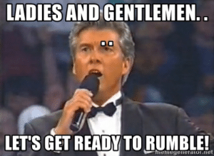 Image result for michael buffer gifs