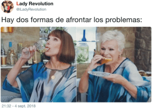 "Tumblr, Revolution, and Sept: Lady Revolution  @iLadyRevolution  Hay dos formas de afrontar los problemas  21:32 - 4 sept. 2018 <figure data-orig-height=""213"" data-orig-width=""256""><img src=""https://66.media.tumblr.com/de1081f528c77dba1796d23d47542a9d/tumblr_inline_pqw5eoyRsd1qf2gly_540.png"" data-orig-height=""213"" data-orig-width=""256""/></figure>"