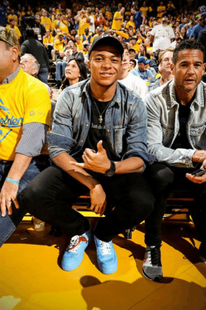 Game, For, and Game 6: laen  ustdo Mbappe was in the building for Game 6