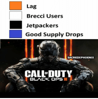 Lol, Meme, and Memes: Lag  Brecci Users  Jetpackers  Good Supply Drops  SACREDXPHOENIX  CALLaUTY  OF  BLACK OPS II I'll make more of these if it does good lol. Goodnight 😴 ➖ Check Out The Homies! ➖ @bunnyrages ➖ @itsiihades @glizzly_ ➖ @exitz_ @gamersbanter ➖ @mr.aloharice @bloodransom ➖ @xoprettynpinkxo @senseisdarksiders ➖ @lil_twink__ ➖ CoD CallOfDuty VideoGames Nintendo Xbox PlayStation PS4 Meme BO3 BlackOps BlackOps3 GamerMeme InfiniteWarfare CoD4 CallOfDuty4 CoDMeme GamingClip Gamer BO3 BlackOps3 VideoGameMeme Gaming Games Game 21Savage