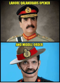 Memes, 🤖, and Lahore: LAHORE QALANDRARS OPENER  AND MIDDLE ORDER LOL :D