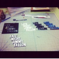 """Fall, Instagram, and Jimmy Fallon: LAIE  GHT  FALLON  JIMMY  FALL  LATE  NIGHT  JIMMY  FALLON <p>At the drawing board. (Taken with <a href=""""http://instagram.com"""" target=""""_blank"""">Instagram</a>)</p>"""